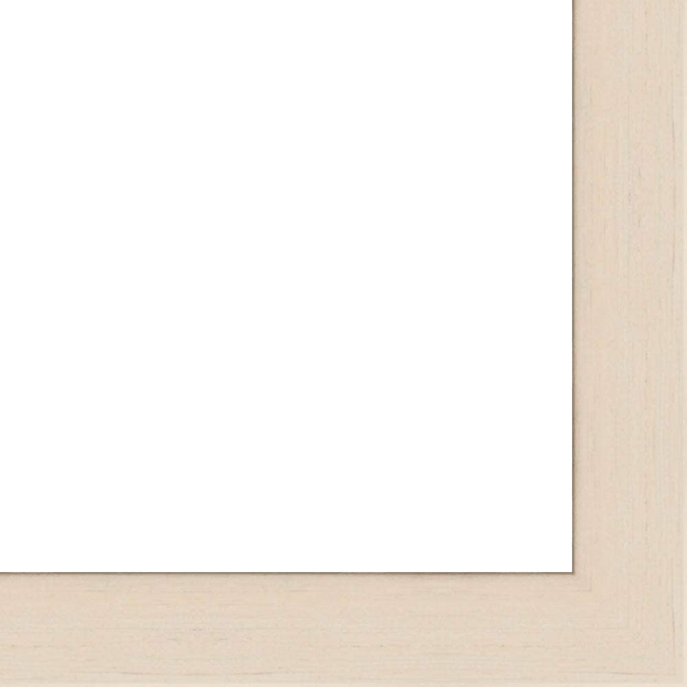 35x35 - Manufacturer Finally popular brand direct delivery 35 x White Wash Flat with Framer' Frame Solid Wood UV