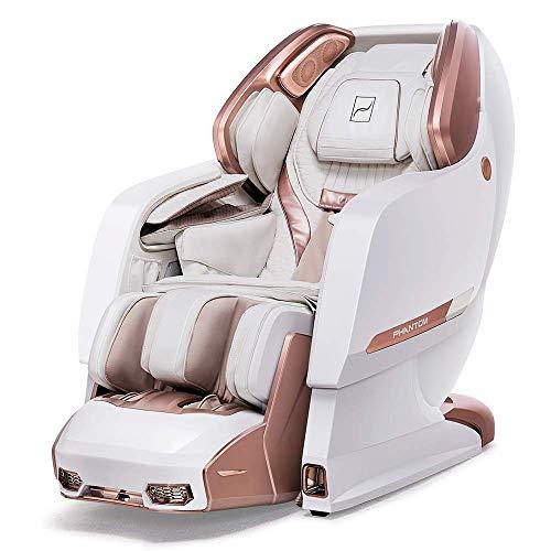 Bodyfriend Massage Chair Phantom 2 White, World's, 4D Massage, Zero Gravity, Patented Brain Massage, Zero Gravity