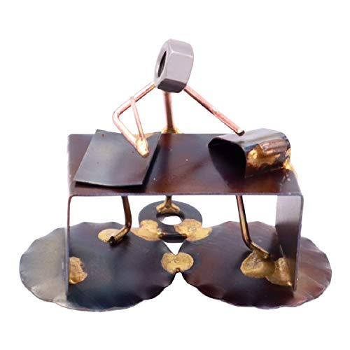 Accountant Handmade Desk Figurine