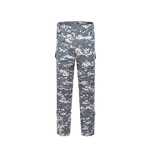 Yijinstyle Pantalones Cargo Múltiples Bolsillos para Hombre Casual Militar Cargo Pant para Trabajo Viaje Deporte