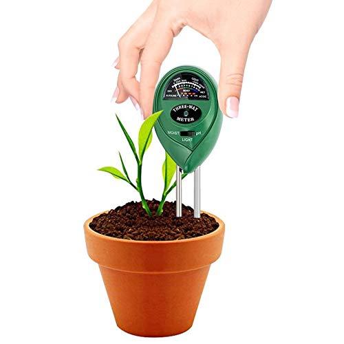 1 en 3-PH du sol et l/'humidité intensité lumineuse compteur usine Testeur pour plantes croissance