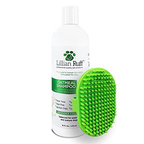 Lillian Ruff Oatmeal Dog Shampoo - Lavender Coconut Scent...