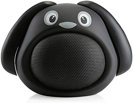 Hugmo Portable Black Dog Speaker New popularity Incredible Sound with Bluetooth Rapid rise