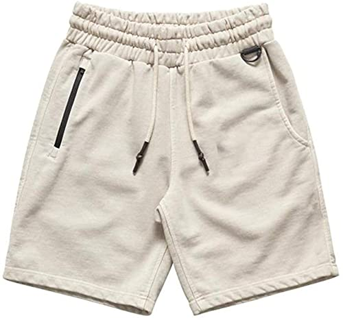 Men's Fitness Shorts Fashion Solid Color Comfortable Simple Trend All-Match