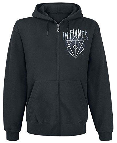 In Flames - Battles Crest Kapuzenjacke Zipper Hoodie (L)