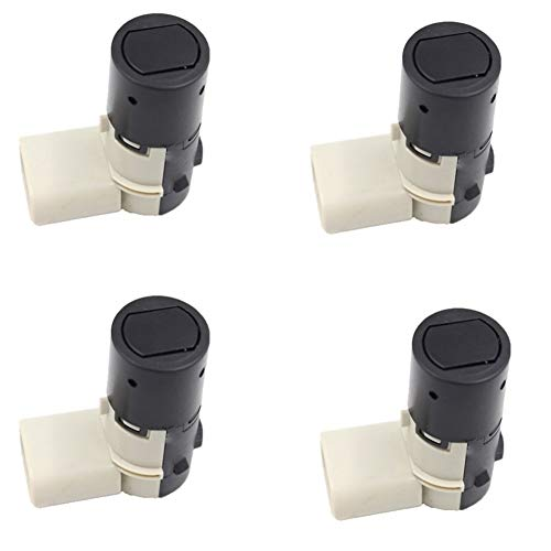 Sistema de Radar 4PCS PDC Sensor de Aparcamiento for Audi, Skoda, VW Sharan Ford Galaxy A2 A3 A4 A6 7M3919275A 4B0919275A para Radar automotriz (Color : As Show)