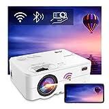 Videoprojecteur WiFi Bluetooth,Artlii Enjoy 2,Mini Projecteur Connexion Bluetooth, Retroprojecteur 300'',720P Natif,Soutien 1080P,Vidéo Projecteur,Compatible iphone, Android,Mac,TV Stick
