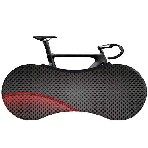 YRDDJQ MTB Road Bike Cover Tejido Elástico 26-28 Pulgadas Bicicleta Cubierta de Polvo Cubierta de Protección de Neumáticos, B