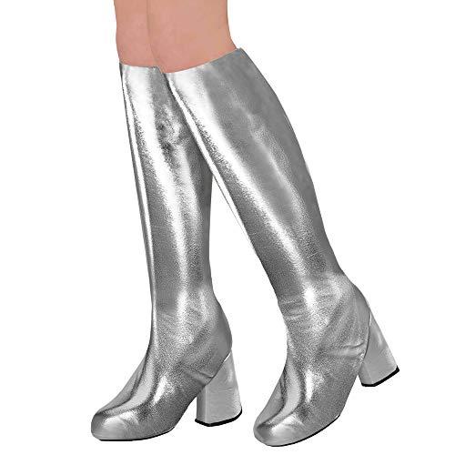 Widmann 65788 Stiefelüberzieher für Erwachsene, Silber