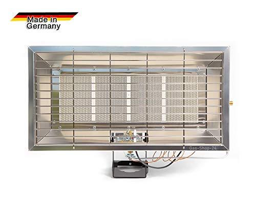 6,5 kW Gas Infrarotheizung/Camping Gasheizung Infarot Gasheizer Wärmestrahler (Gasofen, Campingheizung, Heizung, Werkstatt Garage, Terrasse) Made IN Germany