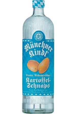 Hemmeter Erster Altbayrischer Karoffelschnaps 0,7 L Münchner Kindl