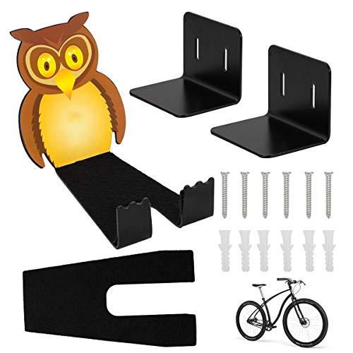 Soporte de Pared Para Bicicleta, Soporte de Pared horizontal para bicicleta de montaña/de carreras,...
