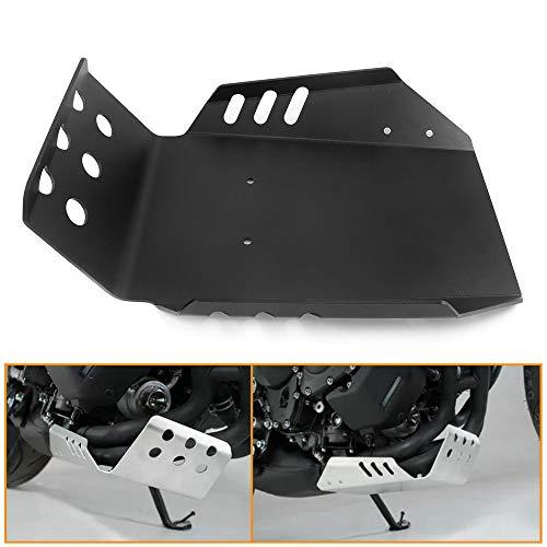 QIDIAN - Cubierta Inferior del Protector del chasis de la Base del Motor de la Motocicleta para Yama ha MT09 FZ09 2013-2021 FJ09 Tracer 900 GT XSR900 2016-2021