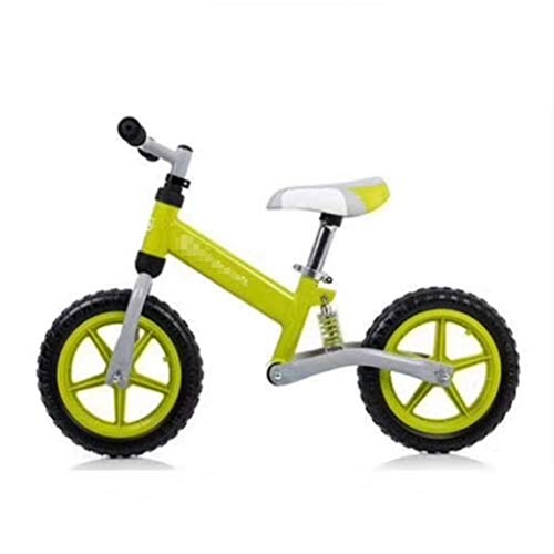 Fantastic Prices! XJJWP Balance Bike High Carbon Steel Frame 2 Wheeled Without Foot Pedal Children Slide Safe & Comfortable for Kids & Toddlers 3 to 6 Years Old,B