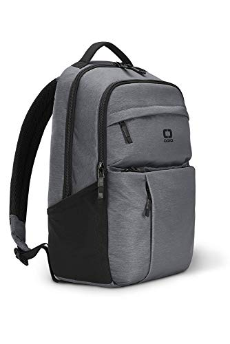 OGIO Pace 20 Durable Base Backpack with 15-inch Laptop Compartment, Heather grey, 48cm - 20 Litre Capacity