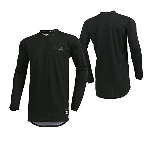 O'Neal 001E-04C Men's Element Classic Jersey (Black, Large)