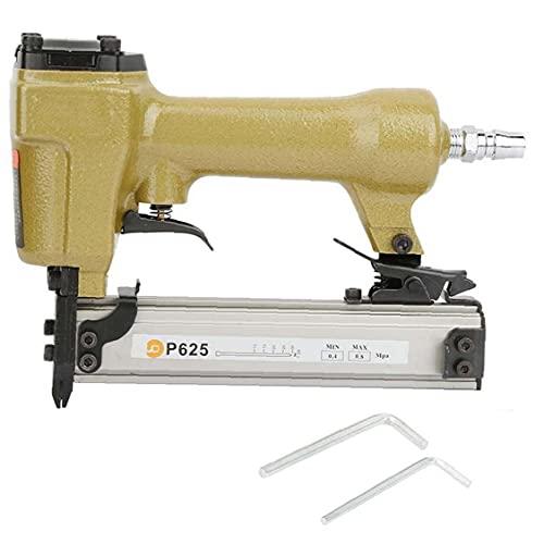 Aire Pin Clavadora Grapadora neumática P625 10-25mm uñas herramienta eléctrica para la...