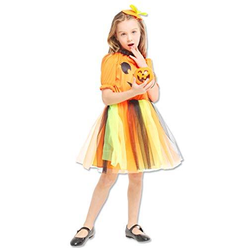 JPOYT-O Disfraz De Fiesta De Disfraces para Niñas De Halloween para Niños(Size:130-140CM)