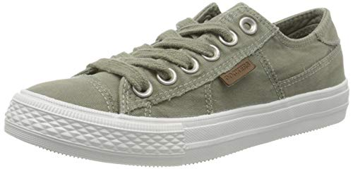 Dockers by Gerli Damen 40TH201-790850 Sneaker, Grün (Khaki 850), 40 EU