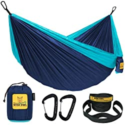Wise Owl Outfitters Hammock Camping - Double & Single