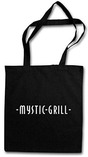 Urban Backwoods Mystic Grill Hipster Bag Beutel Stofftasche Einkaufstasche