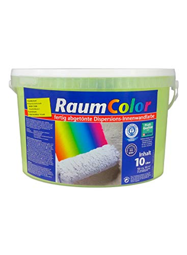 Raumcolor getönt Limette 10 Liter ca. 60 m² Innenfarbe Wandfarbe Wilckens Farbe Trendfarbe hochdeckend