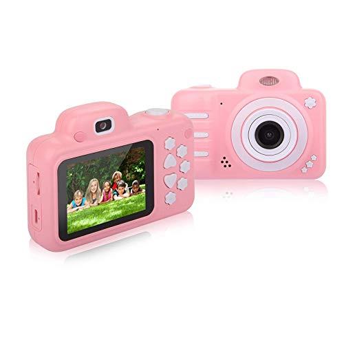 Sendowtek Cámara Digital para Niños, Cámara de 20 M 1080P HD Cámara de Video Digital para niños con Pantalla IPS a Color de 2.4 Pulgadas, a Prueba de Golpes, Regalo para Niños y Niñas …