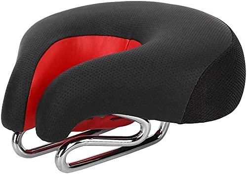 JZTOL Sillín De Bicicleta, Bicicleta Ergonómica De Montaña Ciclismo Bicicleta Sin Desenlace De Silla De Montar Almohadilla De Cojín Asiento