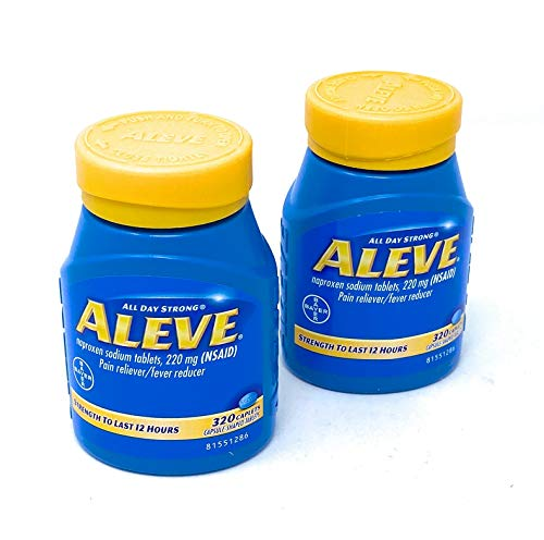 Aleve Naproxen Sodium Tablets (320 ct.) (Pack of 2)