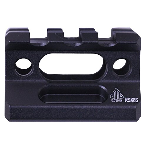 Buy Leapers MT-RSX5S Inc, UTG Super Slim Picatinny Riser Mount, 1/2 Height, 3 Slots, Black