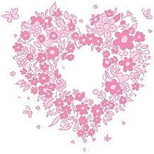 Roze bloemen - Bloemen Macbook sticker zelfklevend vinyl - kunst decor/wanddecor/keuken stickers - Macbook stickers - Clea...