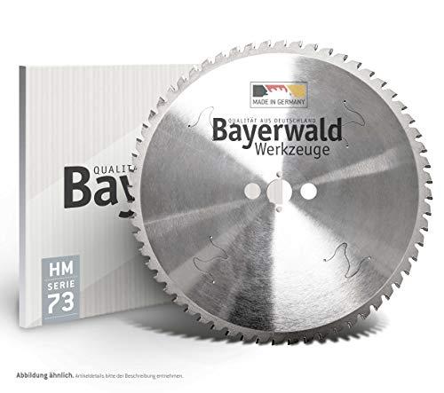 Bayerwald HM - Hoja de sierra circular (270 mm de diámetro x 2,2 mm x 30 mm, dentado plano trapezoidal (72 dientes) | Orificios secundarios: agujeros combinados + 2/7/42 | Dry Cutter Sandwich
