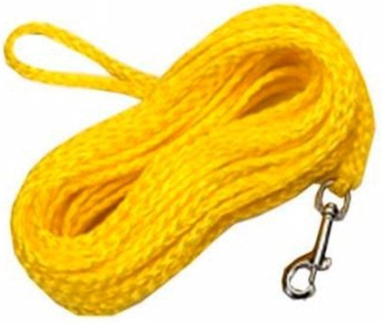 Coastal Pet R3850 G YEL50 Poly Check Cord, 1 4 by 50Feet, Yellow by Coastal Pet