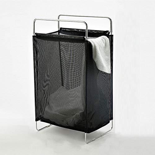 TOBY Mesh Panier à Linge Folding, Vêtements Sales Respirabilité Un Transport aisé Portable Ménage Essentials Dortoir de collège-A 40x27x70cm(16x11x28inch)