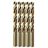 MAXTOOL No. 43 Dia 0.089' Wire Gauge 5pcs Jobber Twist Drill Bits HSS M35 5% Cobalt; JBN35G10R43P5