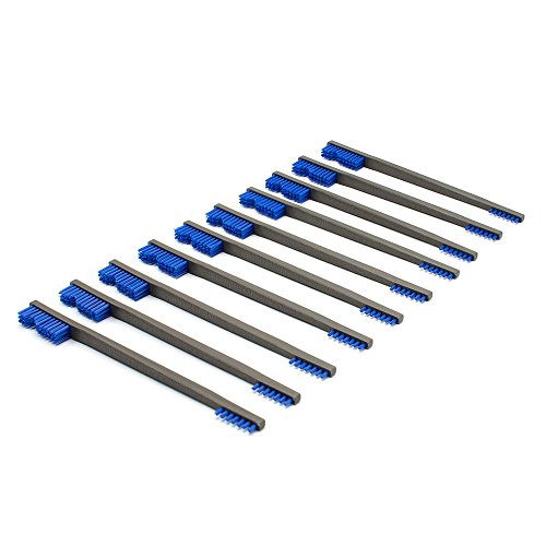 Otis Technology Blue Nylon All Purpose Gun Cleaning Brush (10 Pack)