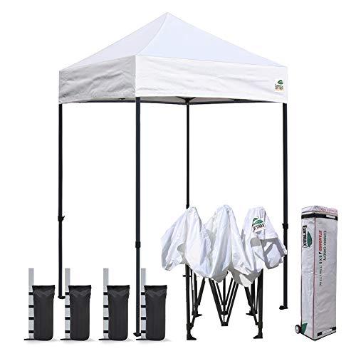 Eurmax 5'x5' Ez Pop Up Canopy Tent Commercial...