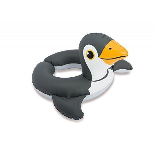 Bambini Galleggiante Pneumatico Anello Nuoto / Salvagente Animale Dello Zoo Pinguino