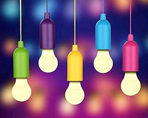 LED-Leuchtmittel, handliche Lux Farben, 5 Stück Leuchtmittel, Dekoration oder für Camping, Wandern, Nacht, Angeln, Notfalllicht, Camping, Party, Kleiderschrank