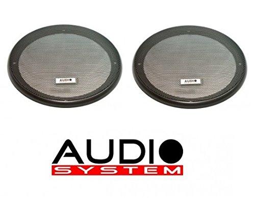 Audio System GI 130 (Paar) Lautsprechergitter 13cm schwarz