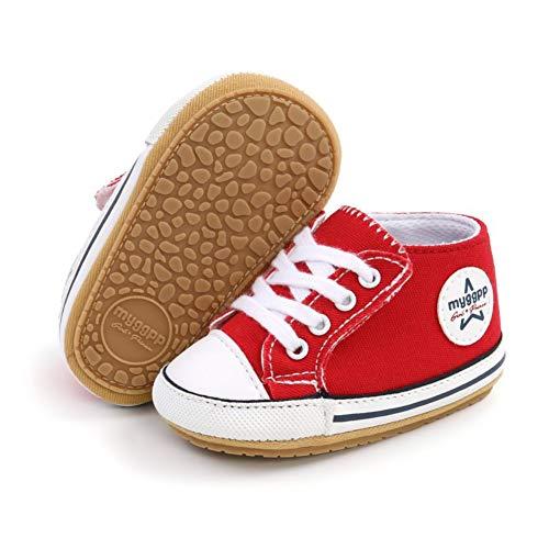 Zapatos de Lona niños Zapatillas de Deporte Casuales Suela Suave Antideslizante Primeros...