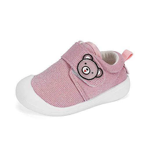 Zapatos Bebe Niña Primeros Pasos, Rosado, 20 EU (talla del fabricante 16)