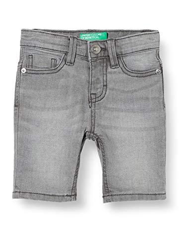 United Colors of Benetton Baby-Jungen Bermuda Shorts, Grau (Grigio 800), 86/92 (Herstellergröße: 2y)