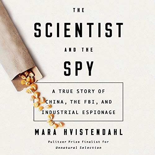 The Scientist and the Spy cover art