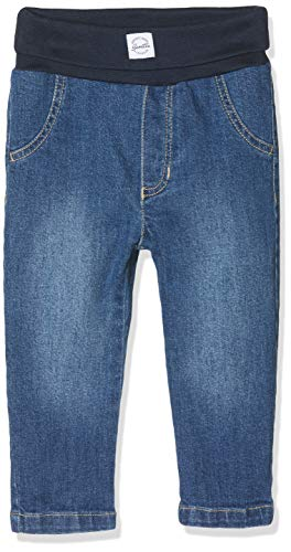 Sanetta Unisex Baby Jeans, blau 9527, 86 (Herstellergröße:086)