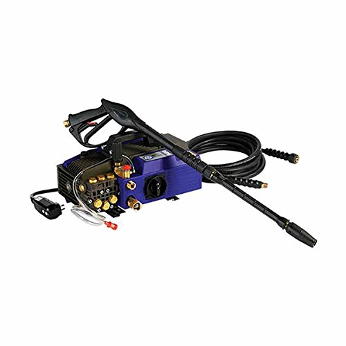 AR Blue Clean AR620 Heavy Duty Commerical Pressure Washer, Electric 1900 PSI, 2.1 GPM, Adjustable Gauge, soap, Built-in Detergent Suction
