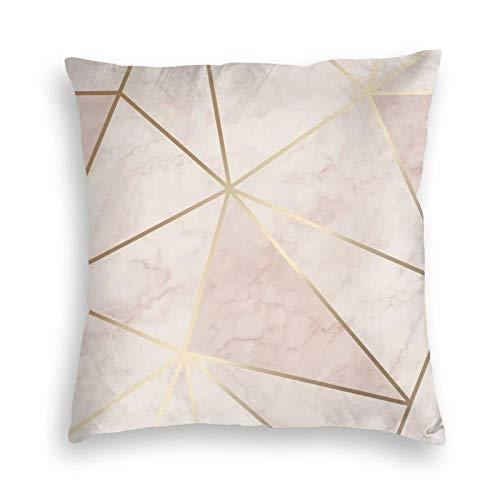 Zara Shimmer - Fundas de cojín para sofá, dormitorio, coche, con cremallera invisible, color rosa