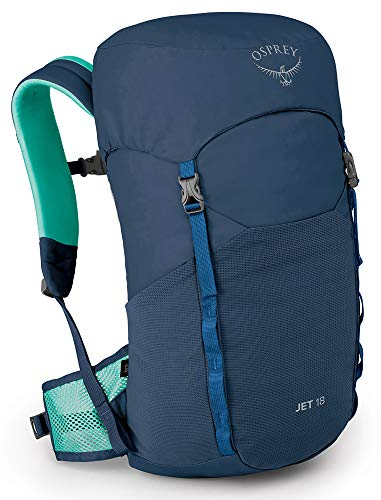 Product Image of the Jet 18 Kid's Hiking Backpack, Wave Blue