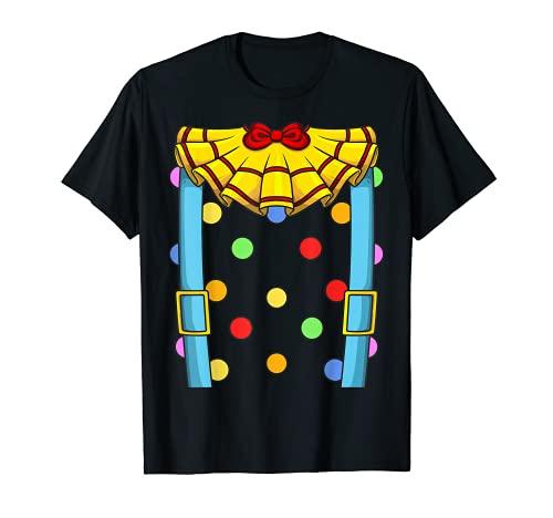 Cool Circus Clown | Divertido regalo de Halloween Camiseta