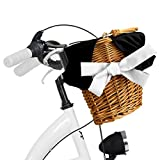 Zoom IMG-1 milord bicicletta comfort bianco a